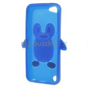 Penguin silikónový obal pre iPod Touch 6 / iPod Touch 5 - tmavomodrý - 5