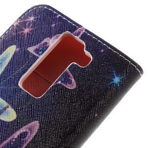 Emotive PU kožené pouzdro na LG K8 - kouzelní motýlci - 5