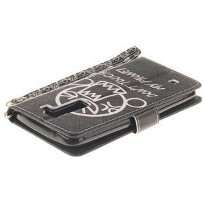 Style PU kožené puzdro pre LG K8 - nesiaha - 5