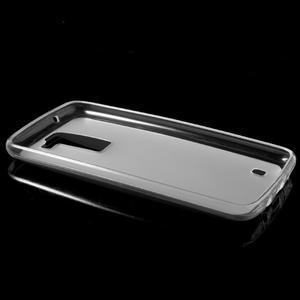 Matný gélový obal pre mobil LG K8 - transparentný - 5