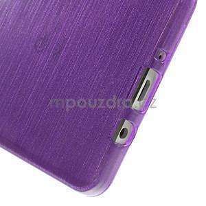 Broušený gélový obal Samsung Galaxy A5 - fialový - 5