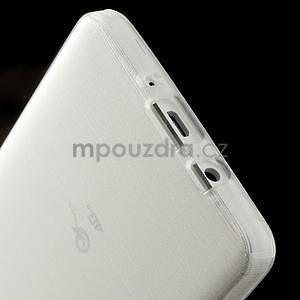 Broušený gélový obal Samsung Galaxy A5 - biely - 5