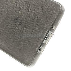 Broušený gélový obal Samsung Galaxy A5 - šedý - 5