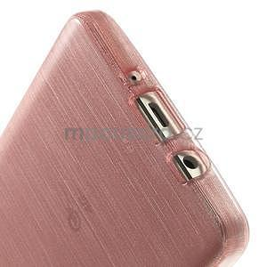 Broušený gélový obal Samsung Galaxy A5 - růžový - 5
