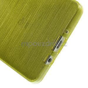 Broušený gélový obal Samsung Galaxy A5 - zelený - 5