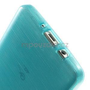 Brúsený gélový obal Samsung Galaxy A5 - tyrkysový - 5