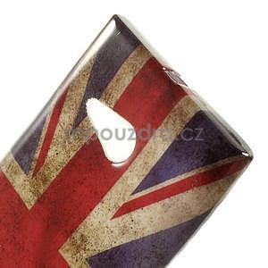 Gélové puzdro na Nokia Lumia 730 a Lumia 735 - UK vlajka - 5