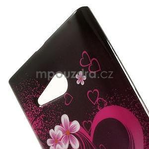 Gélové puzdro na Nokia Lumia 730 a Lumia 735 - srdce - 5