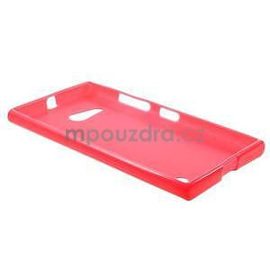 Gélový obal na Nokia Lumia 730 a Lumia 735 - rose - 5