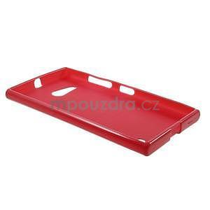 Gélový obal na Nokia Lumia 730 a Lumia 735 - červený - 5