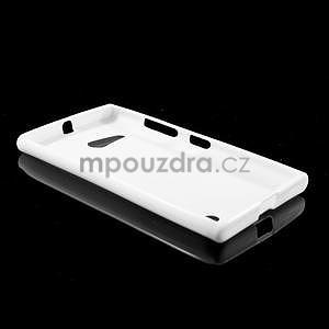 Gélový obal pre Nokia Lumia 730 a Lumia 735 - biely - 5