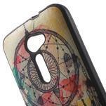 Gélový obal s imitáciou vrúbkované kože na Asus Zenfone 2 ZE500CL -  dream - 5/5