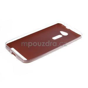 Gélový kryt s imitáciou kože Asus Zenfone 2 ZE500CL - champagne - 5