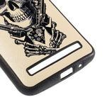 Gélový kryt s imitáciou vrúbkované kože pre Asus Zenfone 2 ZE551ML - pištoľník - 5/5