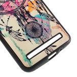 Gélový kryt s imitáciou vrúbkované kože pre Asus Zenfone 2 ZE551ML -  snívanie - 5/5