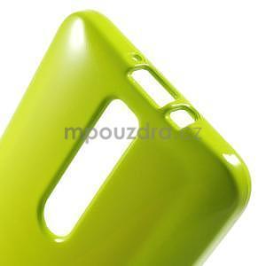Gélový obal na Asus Zenfone 2 ZE551ML - zelený - 5