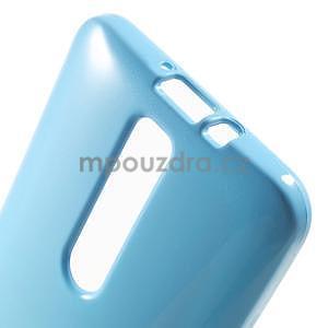 Gélový obal pre Asus Zenfone 2 ZE551ML - svetlomodrý - 5