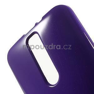 Gélový obal na Asus Zenfone 2 ZE551ML -  fialový - 5