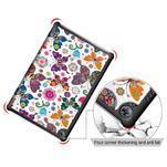 Emotive PU kožené puzdro na Huawei MediaPad M5 10 - motýliky - 5/7