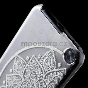 Plastový obal pre iPod Touch 5 - polkruh mandala - 5