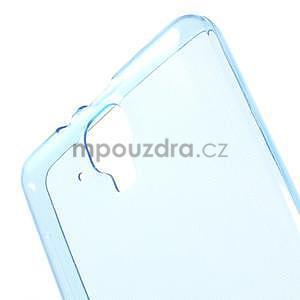 Gélový slim obal pre Lenovo A536 - modrý - 5