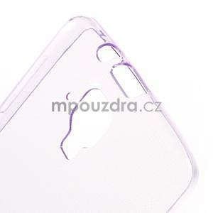 Gélový slim obal pre Lenovo A536 - fialový - 5