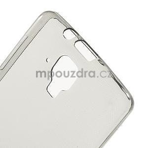Gélový slim obal pre Lenovo A536 - šedý - 5