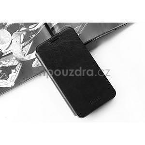 PU kožené puzdro na Lenovo Vibe Shot - čierne - 5