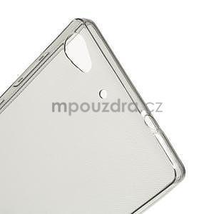 Gélový kryt pre Lenovo Vibe X2 - šedý - 5