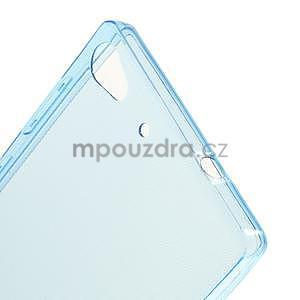 Gélový kryt na Lenovo Vibe X2 - modrý - 5