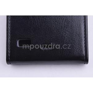 Flipové puzdro na mobil Lenovo Vibe X2 - čierné - 5
