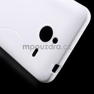 S-line gélový obal na Microsoft Lumia 640 XL - biely - 5