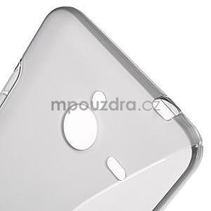 S-line gélový obal na Microsoft Lumia 640 XL - šedý - 5