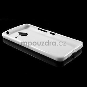 Biely gélový obal pre Microsoft Lumia 640 XL - 5