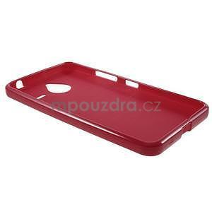 Červený gélový obal pre Microsoft Lumia 640 XL - 5