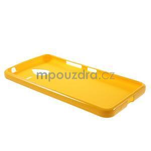 Žltý gélový obal pre Microsoft Lumia 640 XL - 5