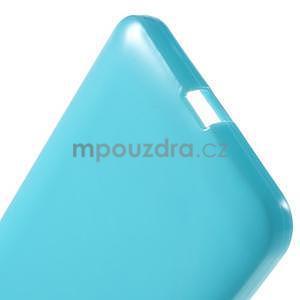 Svetlomodrý gélový obal pre Microsoft Lumia 640 XL - 5