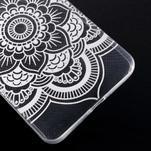 Transparentný gélový obal na Microsoft Lumia 640 XL - kvietok - 5/5