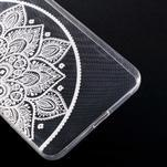 Transparentný gélový obal na Microsoft Lumia 640 XL - lotos - 5/5