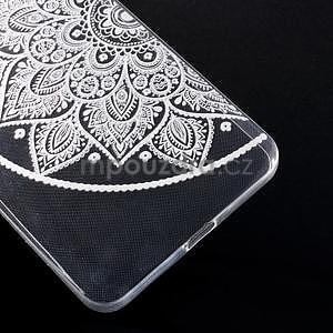Transparentný gélový obal na Microsoft Lumia 640 XL - lotos 2 - 5