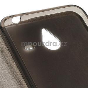 Tmavomodré klopové puzdro pre Microsoft Lumia 640 XL - 5