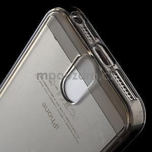 Ultra tenký obal s vreckom pre iPhone 5 a 5s - šedý - 5