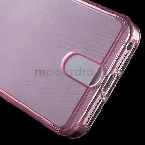 Ultra tenký obal s vreckom pre iPhone 5 a 5s - rose - 5