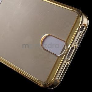 Ultra tenký obal s vreckom pre iPhone 5 a 5s - champagne - 5