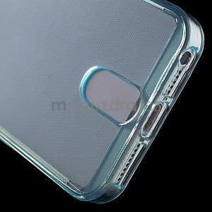 Ultra tenký obal s vreckom pre iPhone 5 a 5s - modrý - 5