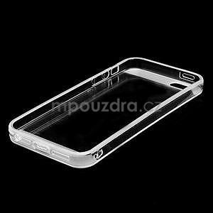 Transparentný gélový obal na iPhone 5 / 5s - 5