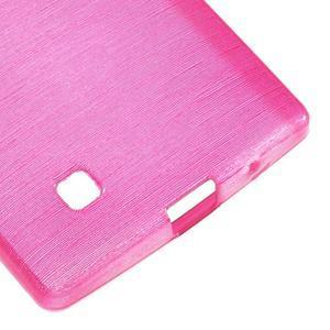 Brush gélový kryt pre LG G4c H525N - rose - 5