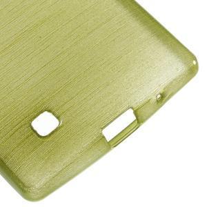 Brush gélový kryt pre LG G4c H525N - zelený - 5