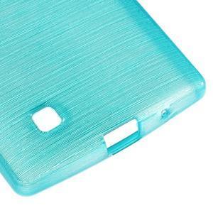 Brush gélový kryt na LG G4c H525N - modrý - 5