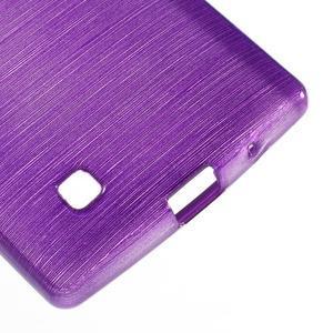 Brush gélový kryt pre LG G4c H525N - fialový - 5